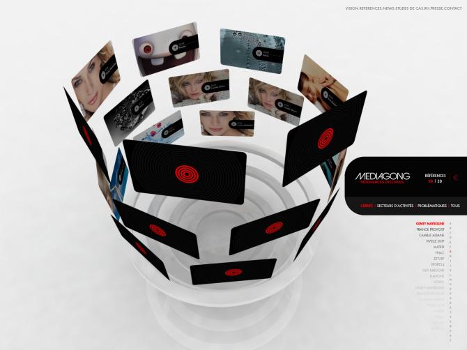 Direction de Création et concept - baseline, branding, territoire  de marque - Médiagong