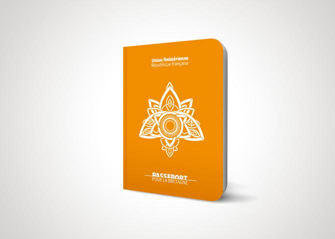 Direction de Création et Concept - campagne de lancement EasyJet - Passeport pour la Bretagne