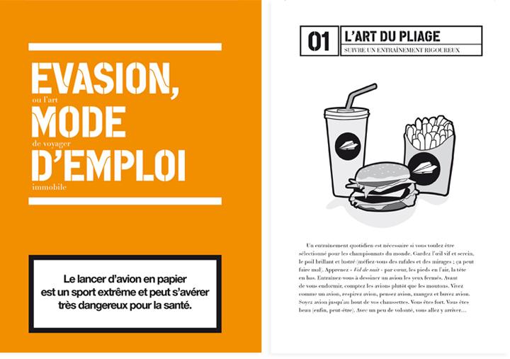 Direction de Création et Conception Rédaction - Campagne et livret blogueur Easy jet