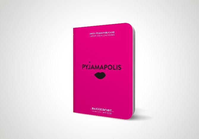 Direction de Création, concept et identité pour la pyjama party de Princesse Tam Tam