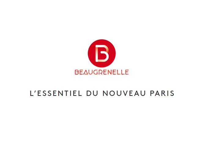 direction de création et concept pour le branding du centre commercial Beaugrenelle